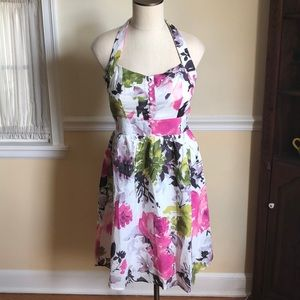 Peony Halter Sundress by Aryeh, size M